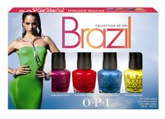 OPI Brazil Collection for Spring/Summer 2014 via @Chalkboard Nails #nailpolish #opi