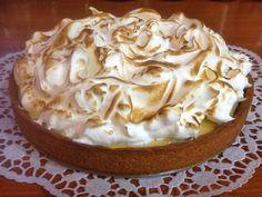 Τάρτα λεμονιού ή lemon pie Lemon Curd, Nom Nom, Pie, Cooking, Sweet, Desserts, Recipes, Food, Tarts