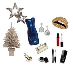Happy New Year ! by pinkcrema on Polyvore featuring polyvore, fashion, style, Jane Norman, Giuseppe Zanotti, Glint, Violent Lips, FusionBeauty, Bobbi Brown Cosmetics, Lancôme and Chanel