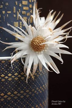 I've published an easy-to-follow tutorial on how to make a fantasy flower with wafer paper: You can go to my FB page to see step-by-step photos and explanation:...