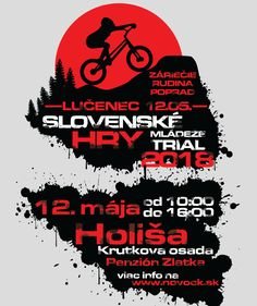 Event Poster.  Graphic by BAD WOLF | anderor.sk #badwolf #anderor #illustrator #adobe #art #artwork #bike #mountainbike #trialbike #trial Trial Bike, Bad Wolf, Illustrator, Adobe, Web Design, Artwork, Movie Posters, Posters, Big Bad Wolf