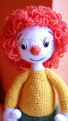 Pumukli horgolt amigurumi, Játék, Báb, Baba játék, Játékfigura, Meska Free Crochet, Knit Crochet, Baby Toys, Crochet Patterns, Disney Princess, Knitting, Disney Characters, Art, Amigurumi