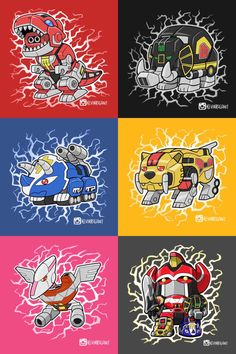 Lil Dinozords - Visit to grab an amazing super hero shirt now on sale!