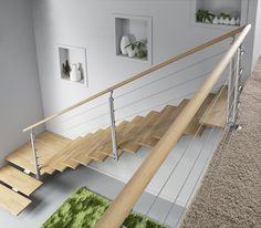 10 Best Rampe Descalier Images Stair Railing Glass