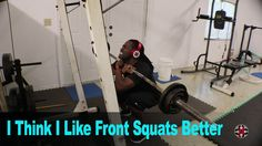 Trying Out Front Squats | 01-02-2017 | VLOG 101