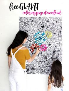 Giant Coloring Books for Adults Luxury Free Giant Coloring Page Alisaburke Abstract Coloring Pages, Spring Coloring Pages, Christmas Coloring Pages, Coloring Pages To Print, Mandala Coloring, Coloring Book Pages, Printable Coloring Pages, Coloring Sheets, Engineer Prints