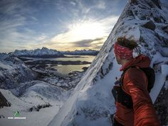 #Mountain #climbing in #Lofoten. Check out the blog for more amazing pics.