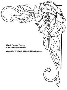 Carving  *  Scrolling  *  Drawing  *  Painting  *  Pyrography  *  and more  Featuring patterns, books, and eprojects by Lora S. Irish and Fox Chapel Publishing