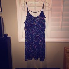 Lush floral dress Worn once. All of my items come from a  free  free home. Questions welcome❤️ Lush Dresses