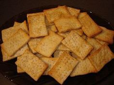 Biscuiti sarati crocanti - Culinar.ro Forum Salt Crackers, Cornbread, Sweet Potato, Crisp, Appetizers, Butter, Potatoes, Vegetables, Cooking