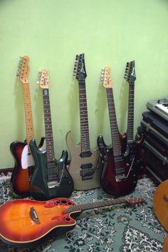 my electric guitars
