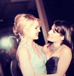 Dianna Agron - Lea Michele   - Achele