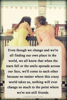 I love my friends!!!!! Ann, Jen, Lys, and Mac to name a few.........