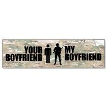 Military girlfriend - for Taryn and Sarah!