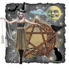 Witch pentacle