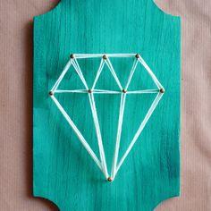 Por qué no?: String Art - DIY