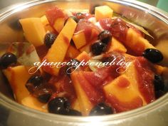 stufato di zucca a a pancia piena blog Fruit Salad, Blog, Fruit Salads, Blogging