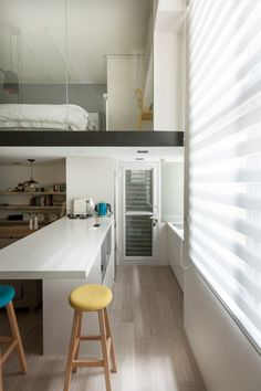 Home Designing — (via A Modern Loft with Character | Home...