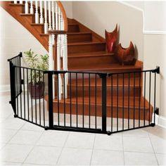 9 Feet Of Foldable Gate For Dog Barrier Across Open