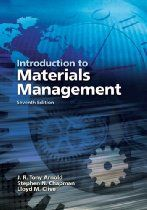 Introduction to Materials Management (7th Edition). covers all the essentials of modern supply chain management, manufacturing planning and control systems, purchasing, and physical distribution. Clearly written and exceptionally user-friendly, its content, examples, questions, and problems lead students step-by-step to mastery. An APICS primary reference, and an indispensable book for the SCM practitioner's personal library,