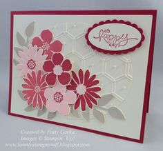 Image result for stampin up honeycomb hello