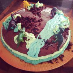 Dinosaur Birthday Cake!