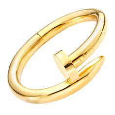 e740e813e 1stdibs.com   CARTIER/ ALDO CIPULLO A Gold 'Nail' Bracelet Cartier Nail