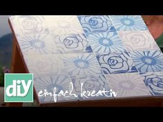 Holzfließen für die Gartenbank | DIY einfach kreativ - YouTube