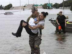 Hurricane Harvey highlights the differences between men and women