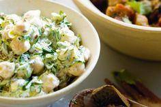 Fresh herbs and tangy lemon infuse this yoghurt dressing with the flavours of the Middle East.