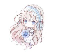 salgu🍑살구맛탕 @cjdcjd717 Dibujos Anime Chibi, Cute Anime Chibi, Moe Anime, Cute Anime Pics, Kawaii Chibi, Kawaii Anime Girl, Kawaii Art, Anime Art Girl, Manga Girl