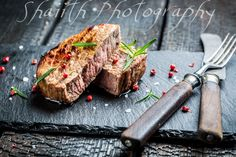 Hot roasted beef with fresh rosemary ready to eat by shaiith on 500px