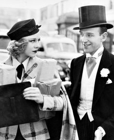 Ginger Rogers & Fred Astaire Swing Time 1937