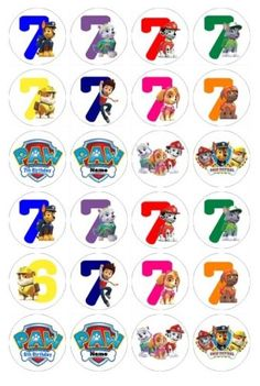24-X-Numeros-De-Aniversario-Patrulha-Canina-Comestivel-Cupcake-Toppers-Pre-Cut