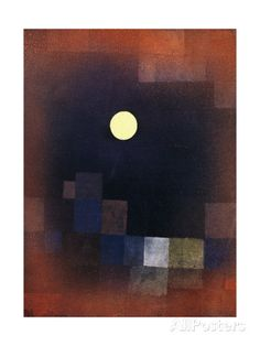 Moonrise; Mondaufgang, 1925 Giclée-Druck von Paul Klee bei AllPosters.de