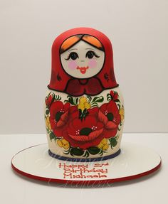 Babushka / matroyshka cake