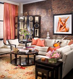 CEBULA DESIGN: Living Room in New York, NY #cebuladesign #interiordesign #livingroom