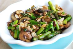 Stir Fry Asparagus - Veggie Dish - Side Dish - Recipe Index