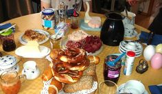 Breakfast fit for a bavarian king  courtesy of Best German Recipe
