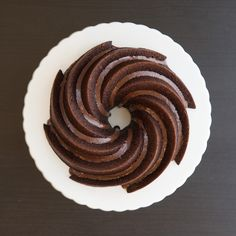 The BEST chocolate Bundt cake recipe with a twist! Treat yourself to this decadent Chocolate Spice Bundt Cake with Dark Chocolate Ganache made in our 6 Cup Heritage Bundt Pan. Elegant and delicious! Best Chocolate Bundt Cake Recipe, Chocolate Recipes, Decadent Chocolate, Chocolate Ganache, Nordic Ware, Spice Cake, Savoury Cake, Cake Pans, Clean Eating Snacks