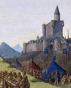 Prise de Foix en 1272 par Philippe le hardi
