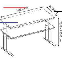 #keramikprojekte - Höhenverstellbarer Schreibtisch für schwere LastenDer höhenverstellbare Schwerlast-Tisch Hd41808s von Hammerbacher stemmt dynamisch und statisch ein Gewicht von 350,0 kg. Dazu verfügt der robuste Tisch über ein extrem stabiles Doppel-T-Fuß-Gestell sowie einen Unterbau aus 5 Quertraversen und 2 Plattenträgern.Elektrisch höhenverstellbarDer Schwerlast-Tisch mit 4 integrierten Motoren verfügt über eine 1-stufige elektrische Höhenverstellung, in einer Höhe von 75,5 - 125,5… Long Desk, Mawa Design, Grey Desk, Diy Projects For Beginners, Diy Chicken Coop, Kartell, White Desks, Garden Projects, Outdoor Gardens