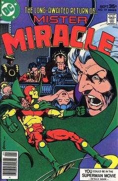 Cover for Mister Miracle (1971 series) #19