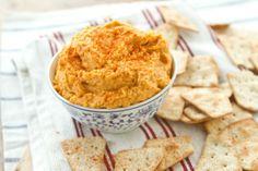 Naturally Ella | Sweet Potato Curry Hummus