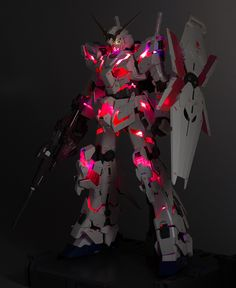 PG 1/60 RX-0 Unicorn Gundam: Work by schizophonic9 [Part Two] Very Detailed Photo Review No.47 Big Size Images http://www.gunjap.net/site/?p=268554