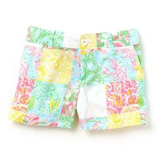 Lilly Pulitzer Callahan Short in State Print