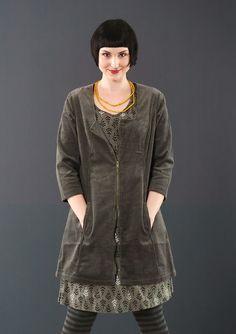 Gudrun Sjoden - Corduroy tunic