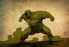 The Incredible Hulk by *PatBoutin on deviantART