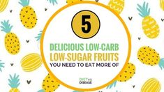 5 Delicious Low Carb Low Sugar Fruits You Need To Eat More Of Some fruits contain a large amount of carbohydrates and therefore sugars. This article looks at the most delicious low carb low sugar fruits. Diabetic Food List, Diabetic Recipes, Keto Recipes, Lower Blood Sugar, Low Sugar, Healthy Nutrition, Healthy Habits, Fruit Calories, Food Lists