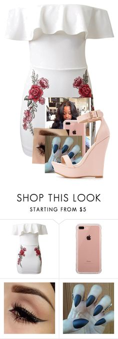 """Untitled #337"" by kyraarlene ❤ liked on Polyvore featuring WithChic, Belkin and Charlotte Russe"